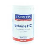 Lamberts Betaine HCL pepsin 180tab