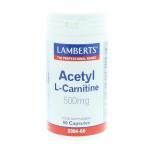 Lamberts Acetyl l-carnitine 60cap