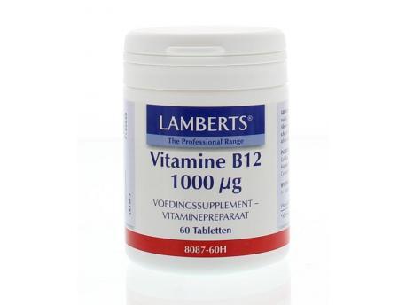 Lamberts Vitamine B12 1000mcg 60tab