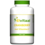 Elvitaal Cranberry + 60 mg vitamine c 150st