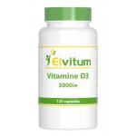 Elvitaal Vitamine D3 3000IE 75 mcg 120cap
