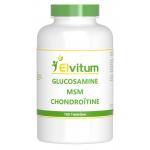 Elvitaal Glucosamine MSM Chondroitin 180st