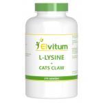 Elvitaal L-Lysine cats claw 270tab