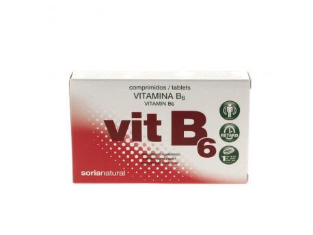 Soria Vitamine B6 retard 1.4 mg 48tab