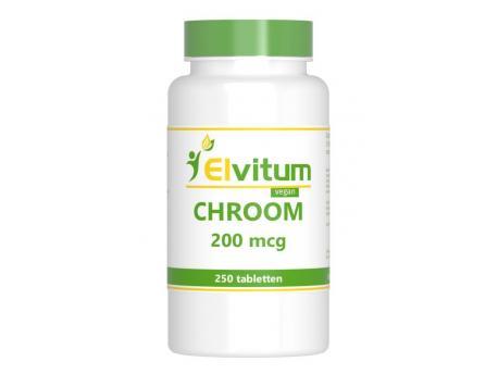 Elvitaal Chroom 250st