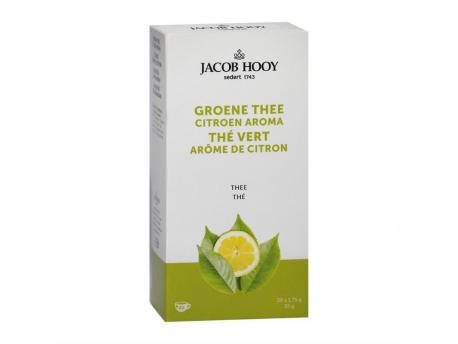 Jacob Hooy Groene thee lemon 20st