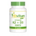Elvitaal Vitamine K2 + D3 Forte 90cap