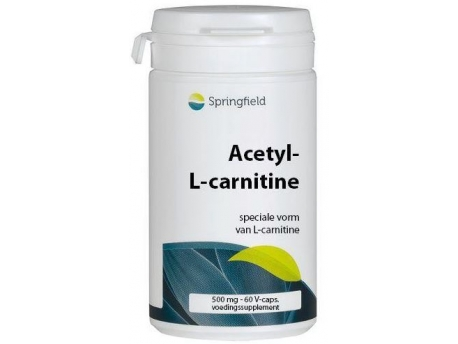 Springfield Acetyl L carnitine 60vc