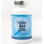 Orthovitaal Vitamine B12 1000 mcg 100tab