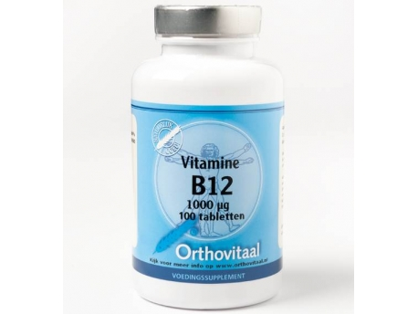 Orthovitaal Vitamin B12 1000 mcg 100tab