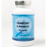 Orthovitaal Cranberry + D-mannose 120cap