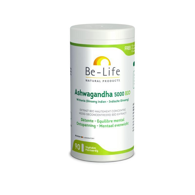 Afbeelding van Be Life Ashwagandha 5000 bio 90cap