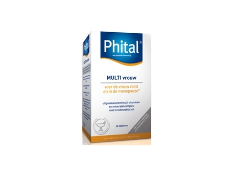 Phital Multi woman 60tab