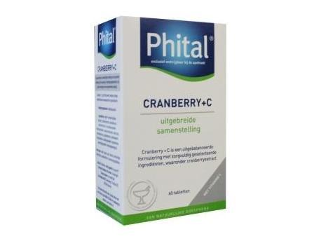 Phital Cranberry & Vitamine C 60tab