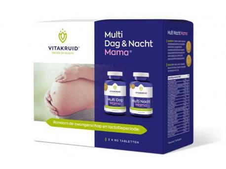 Vitakruid multi day and night mama 2x90st