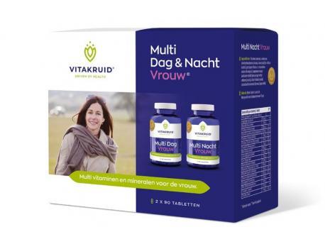 Vitakruid multi day & night woman 2x90st
