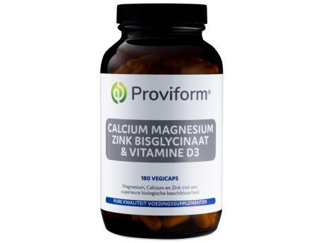 Calcium magnesium zink bisglycinaat & D3