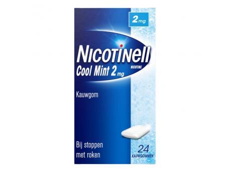 Nicotinell kauwg 2mg