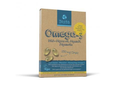Testa omega3 algenol dha 250m@