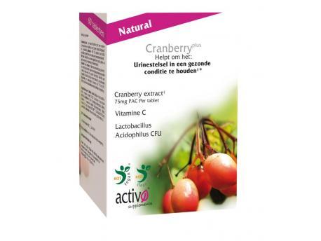 Activo cranberry plus pow