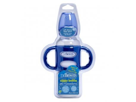 sippy bottle blauw 250ml