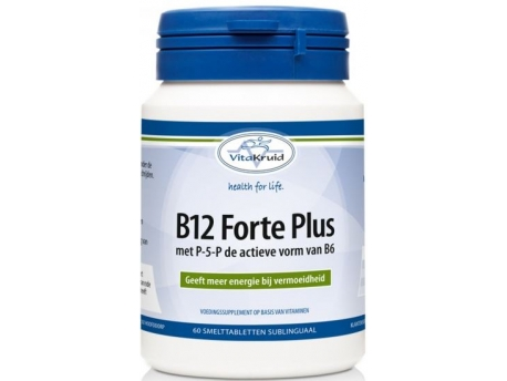 Vitakruid B12 Forte plus 3000 mcg met P5P 60tab