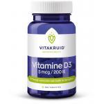 Vitakruid Vitamine D3 5mcg 250tab