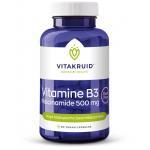 Vitakruid Vitamine B3 niacinamide 500mg 90vc