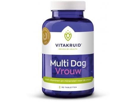 Vitakruid multi day woman 90tab
