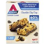 Atkins Chocolate chip crisp reep 5x30g