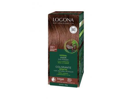 Logona haarkl 091 choco bruin