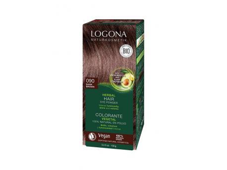 Haarkleuring 090 donkerbruin