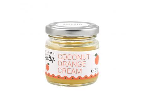 Cream coconut orange