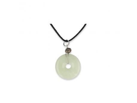 Donuthanger & koord 30 mm jade