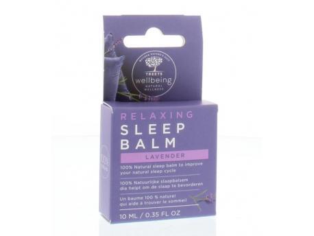 Wellbeing sleep balm