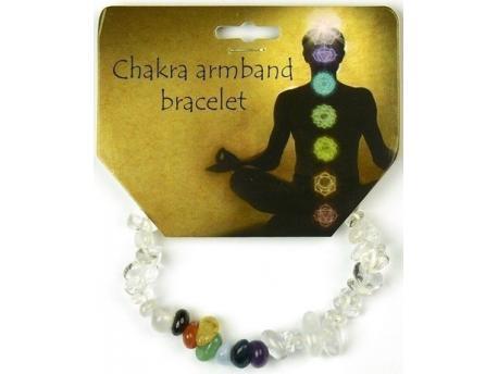 Chakra armband split kristal