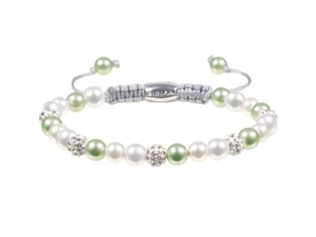 Armband bibiza 13 parel lime
