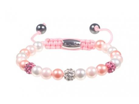 Armband bibiza 19 kids roze