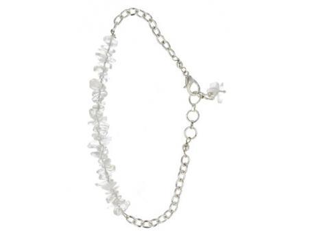 Bar armband bergkristal