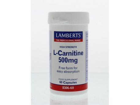 Lamberts L-Carnitine 500 mg 60vc