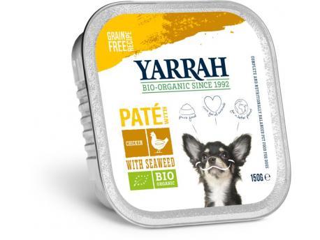 Biologisch hondenvoer pate met kip