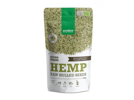 Purasana Hulled hemp seeds 200g