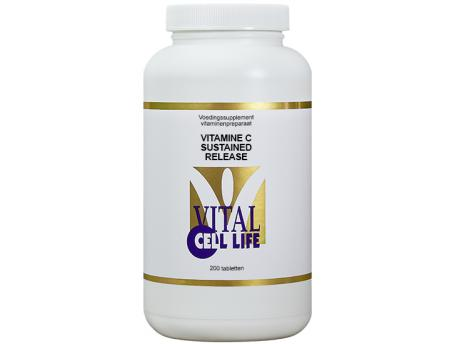 Vital Cell Life Vitamine C sustained release 200 tabletten