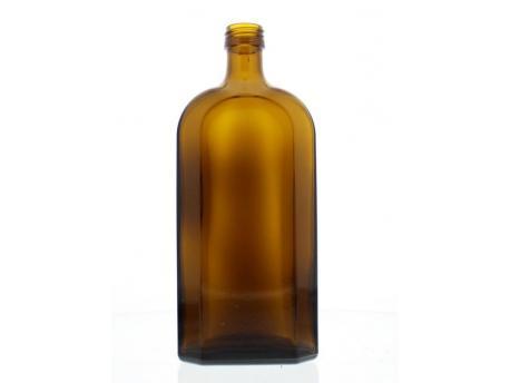 flesje bruin plat /jh