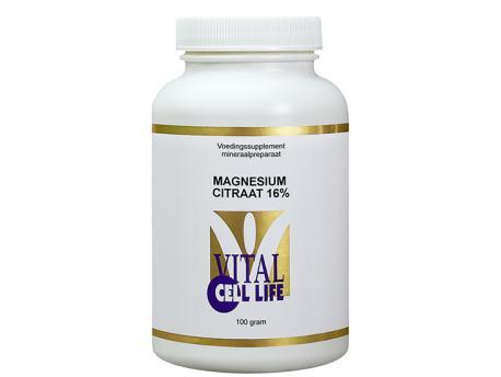 Vital Cell Life Magnesium citraat 100 gram 100g