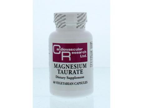 Cardio Vasc Res Magnesium tauraat 60cap