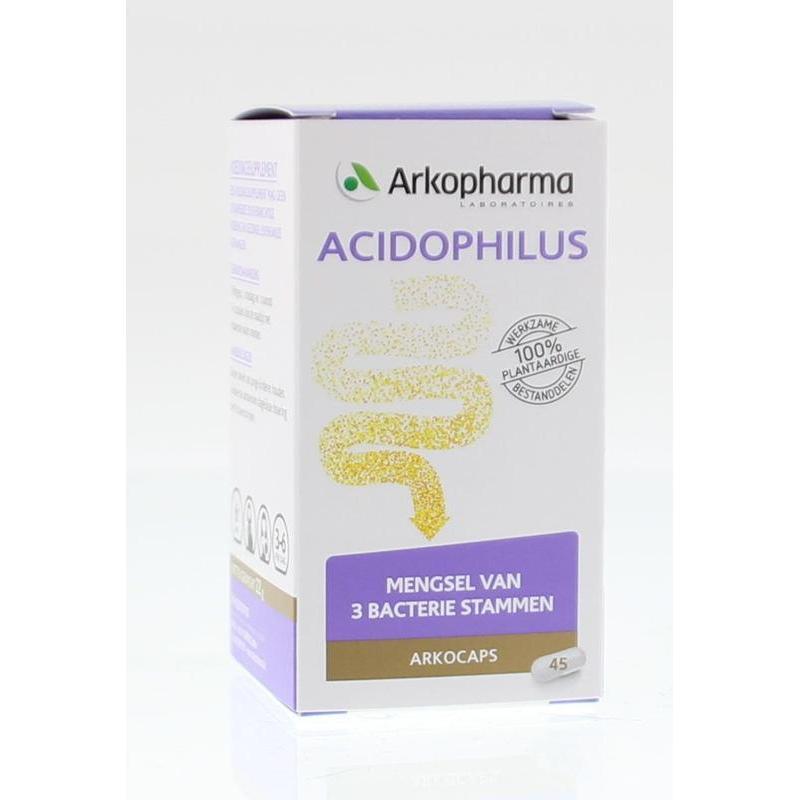 Afbeelding van Arkocaps Acidophilus complex 45cap