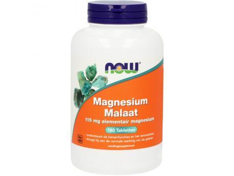 NOW Magnesium Malate 1000 mg 180tab