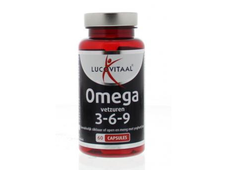 Lucovitaal Omega 3 6 9 x-tra forte 60cap