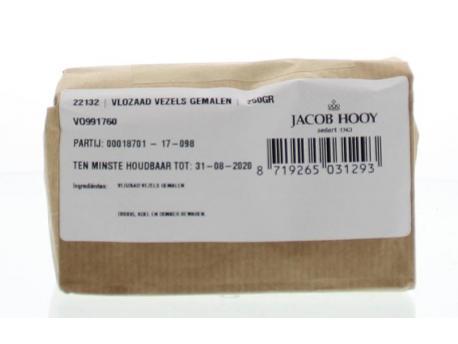 Jacob Hooy Psyllium fibers grinded 250g